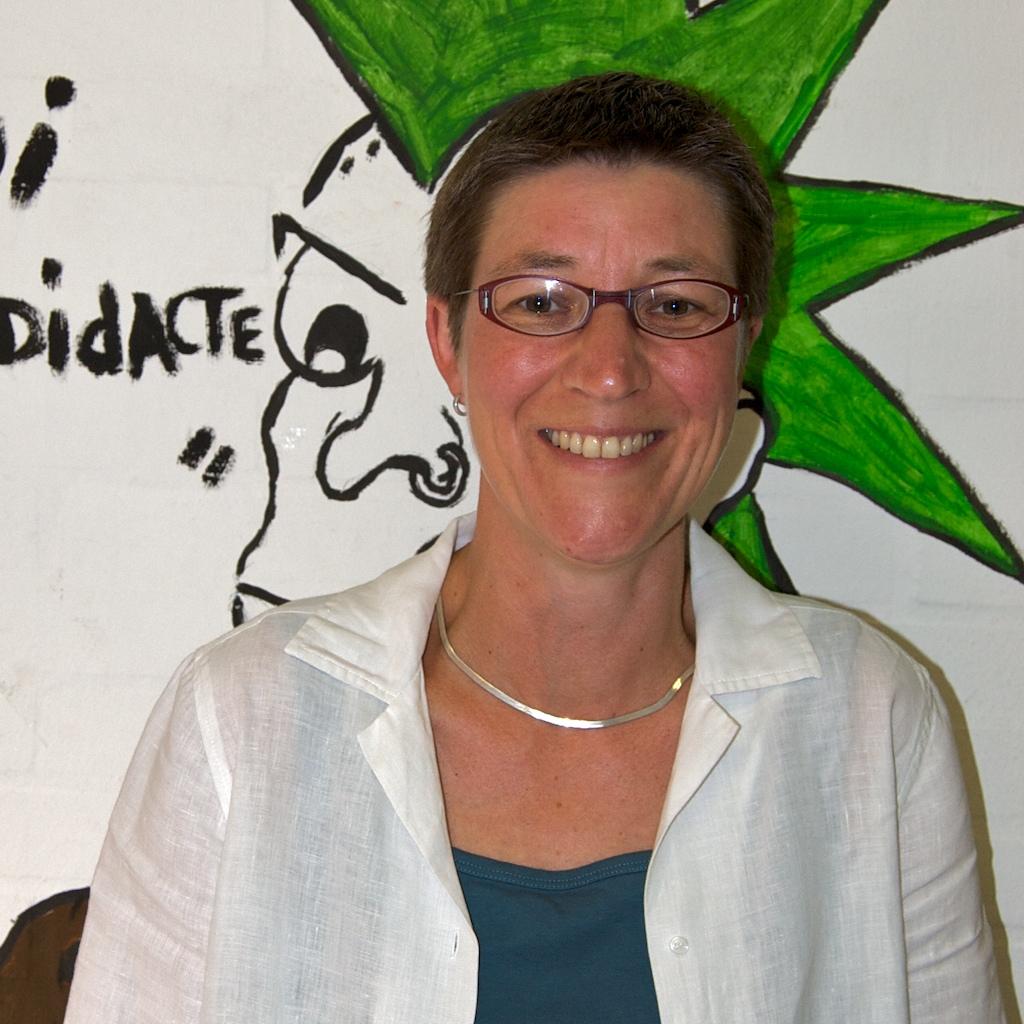 Annette Henninger im G-Gang